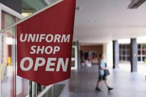Uniform Shop Additional Opening Hours