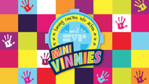 First lunchtime Year 4 to 6 Mini Vinnie's group meeting this Thursday
