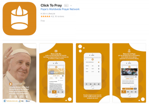 Pope's app connects world through prayer