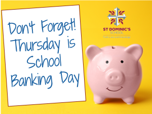 School Banking Every Thursday