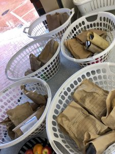 Friday's BasketsWere Overflowing - A BIG Thank You From the Canteen