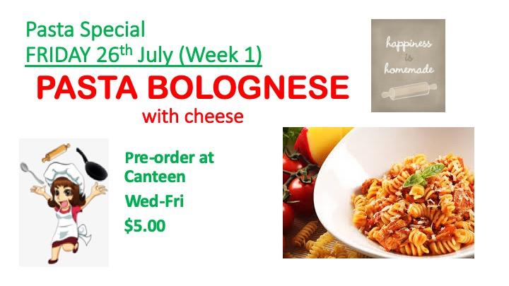 Week 1 Canteen Special
