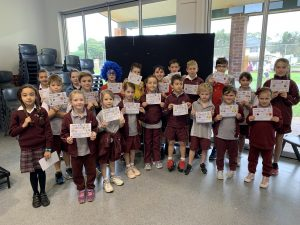Year 5 Assembly/ Merit Award Winners