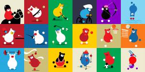 2019 Faction Mascots
