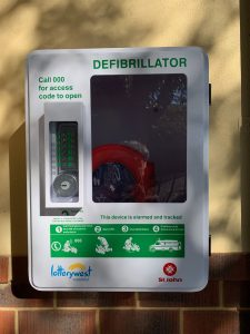 New Defibrillator/ Toilet Block Refurbishments/ New Fencing at the Front of the School
