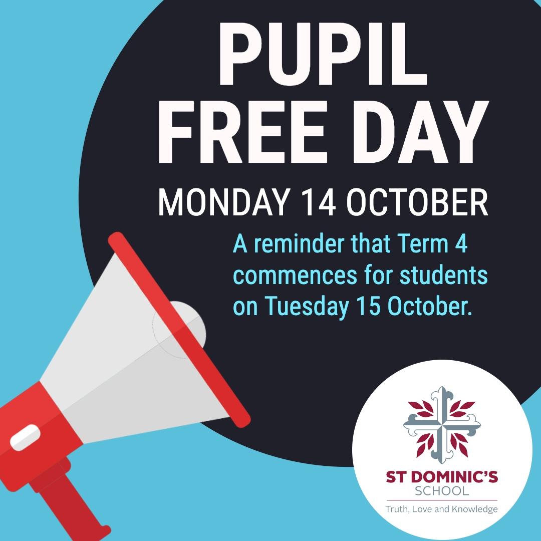 Pupil Free Day Reminder