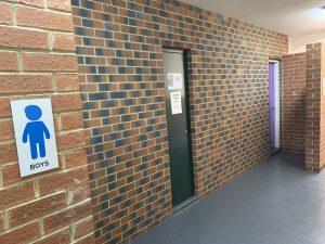 Toilet Block Refurbishment Work Completed
