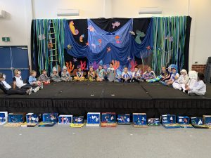 Pre-Primary Assembly andMerit Award Winners