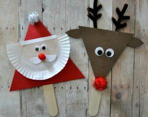 Year 5 Christmas Craft During Year 6 Camp Week