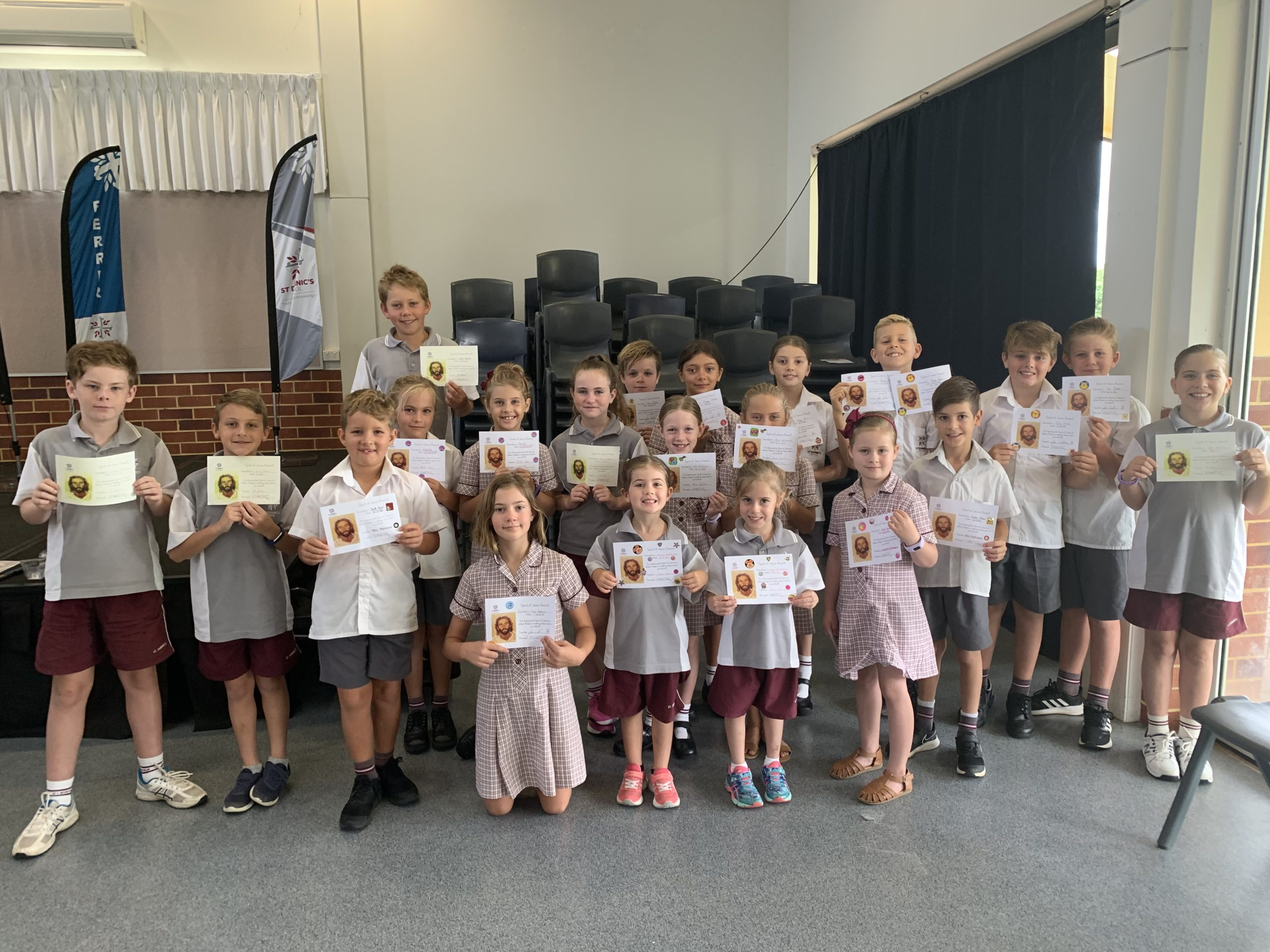 MJR Spirit of Jesus Award Winners – Term 1 Week 7