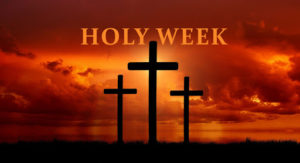 Holy Week Message from Fr Bernard