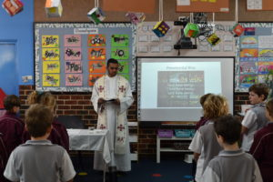 Year 3 and Year 4 Class Mass