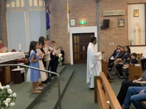 Congratulations to Our Very Special Year 4 First Communicants!