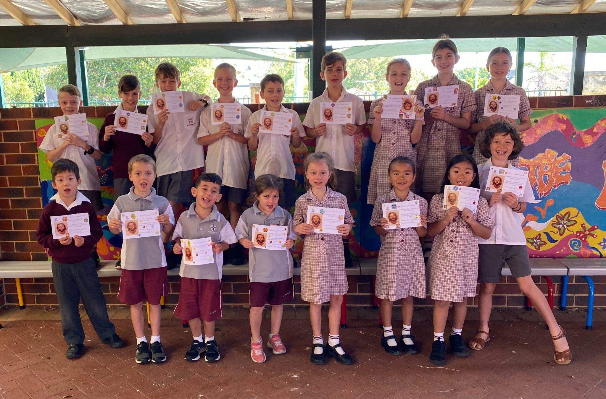 MJR Spirit of Jesus Award Winners – Term 4 Week 8