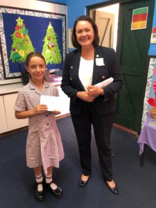 Year 3 Liza Harvey Christmas Card Competition Winner