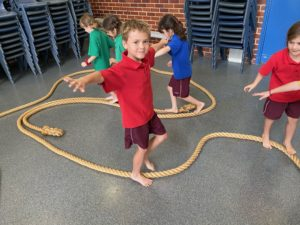 Gymnastics Clinics for Year 1 and 2