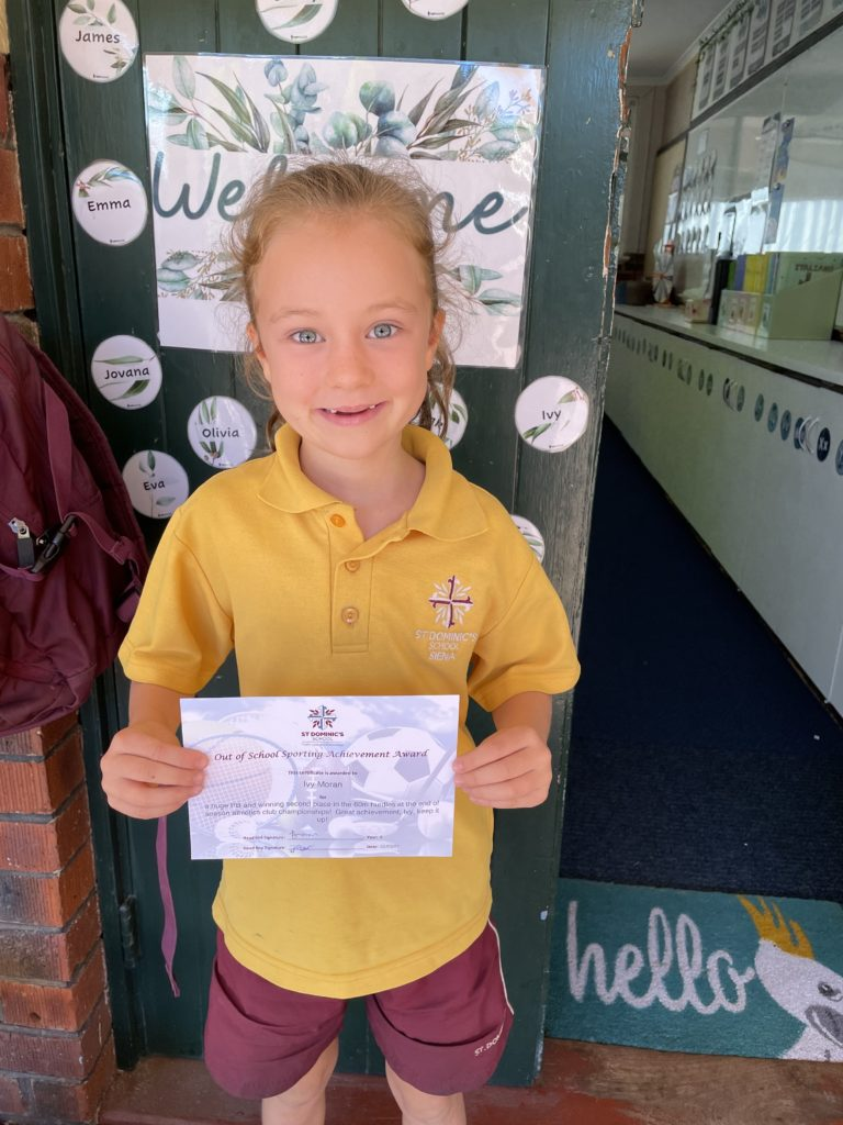 Year 6 Student Leadership Team Update (Out of School Achievement Awards)