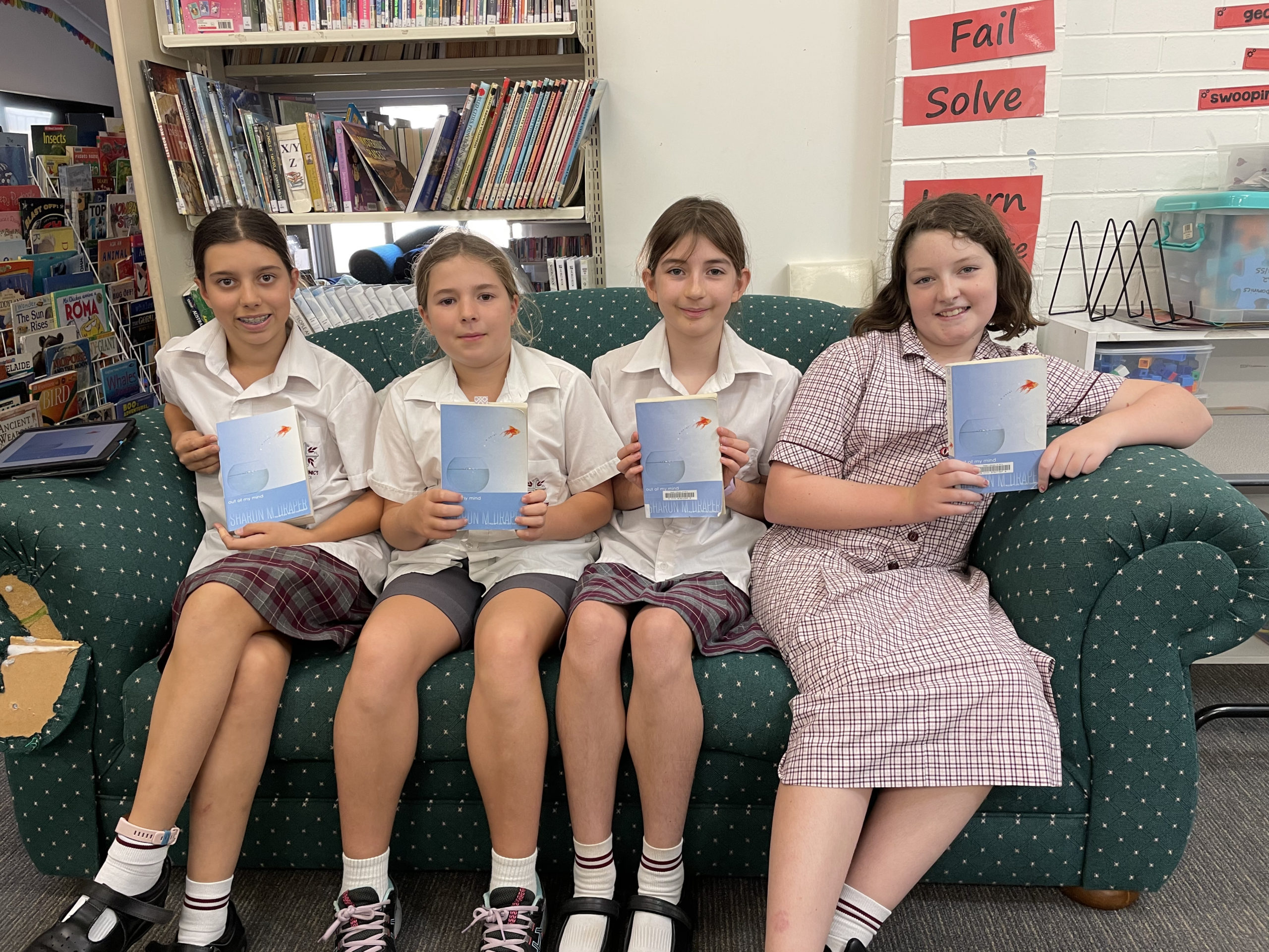 Our new Year 5 and 6 St Dominic's Book Club is up and running!