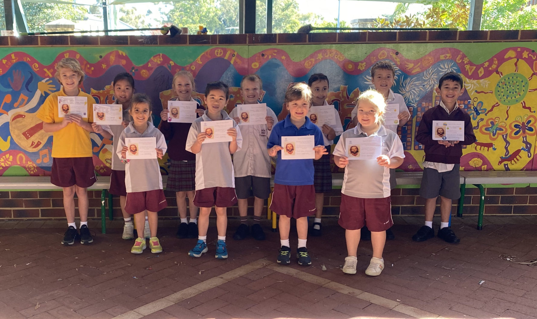 Making Jesus Real (MJR) at St Dominic's- Spirit of Jesus Award Winners Term 3 Week 9 (Including our first community nominations)