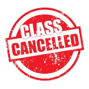 Robotics Club Cancelled in Week 9